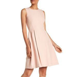 Max Studio | Size 12  Pink Fit and Flare Dress